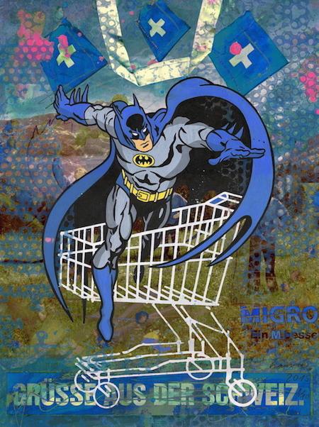 05_Galerie_Isabelle_Gabrijel_ZANRE_Batman_Gruesse_Schweiz web