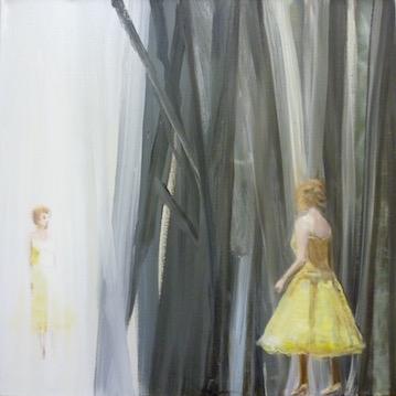 Spirited away / 2010 / 70 x 70